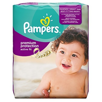 Pampers Active Fit Windeln Test