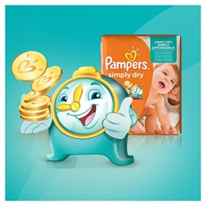 pampers simply dry windeln test