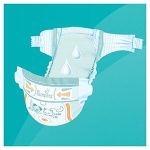 pampers simply dry test trockenheit